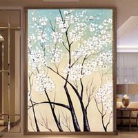 Non Woven art improvement - 3D photo wall mural Art Wall living room Home improvement flower arch bridge porch textile wallpaper