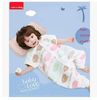Wholesale Nanjiren baby sleeping on the spring section straddle summer layers of gauze to stay warm and play by spring and summer