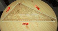 aluminum rulers - Sewing Tools Soft Plastic Transparent Ruler Styling Design Ruler French Curve Ruler
