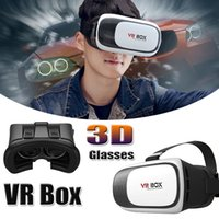 Wholesale 1PCS VR Box Gamepad Virtual Reality D Glasses Helmet VR BOX Headset For Smartphone inch inch With Retail Package piece