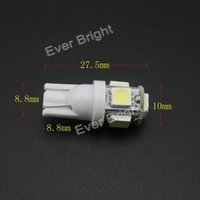 Wholesale 10 x super bright T10 W5W SMD LED Bulb Suitable For Car Replacement Lights Clearance Wedge car signal light