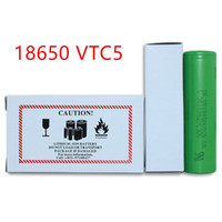 Wholesale TOP QUALITY AAA Battery VTC5 Lithium Batteries Rechargeable Batteries Battery mAh VTC5 DHL Shipping