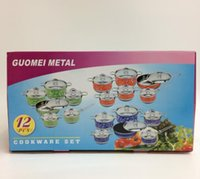 Wholesale Turkey GUOMEI METAL Guomeimita piece cooker set