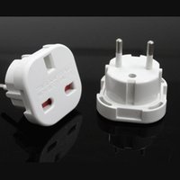 Wholesale A very necessary for home life or travel abroad UK to EU travel adapter A A V fast shipping