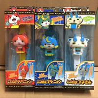 abs watches - Yo kai Watch ABS kids toys Japanese anime digital watch Deformable dolls Jibanyan Komasan Bushinyan colorful package