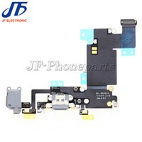 Wholesale high quarity for Apple iphone s plus quot Audio Jack flex cable Charger Dock Charging Port Flex Cable Grey white