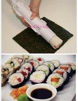 Wholesale DHL healthy hot DIY Home Sushi Bazooka Camp Chef Sushezi Roller Kit Sushezi Best Selling Cooking Tools Fashion Easy to Use Sushi Tools