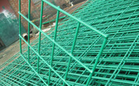 Wholesale Standard m High x3 m Wide Regular Panel PVC Coated Welded Wire Fence Panels for Garden and Road Security
