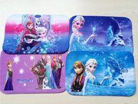 Wholesale Frozen Cartoon Carpet Princess Ana Elsa Area Rug Shaggy Rugs Lovely Frozen Door Mat Bathroon Mat Christmas Decorations cm