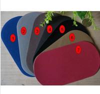 achat en gros de coudre des badges en tissu gros-Coudre à la réparation PATCH Tissu Daim pour manches coude 7