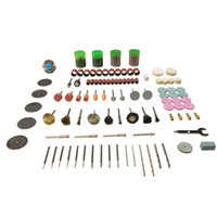 Wholesale 147PCS Grinding Carving Polishing Drill Bit Kit Set quot Shank Grinding Drill Bits Rotary Tool Accessories
