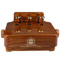 Wholesale useful Rose Wood Adjustable Piano Pedal Extender Piano Pedal Assistant Lifting For Kids