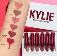 beautiful kits - Kylie Jenner Lip kit Valentine Edition Beautiful a Set Lipstick High Quality Valentine Gift Newest