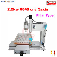 Wholesale Super quality kw kw axis cnc router mm size Pillar type milling machine for wood stone metal water sink