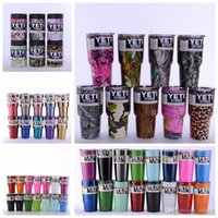 Wholesale YETI oz Tumblers Bilayer Vacuum Insulated Stainless Steel Cups Double Wall Cups Travel Vehicle Beer Mugs Starry Sky Skull BUU1