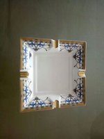 Wholesale Bone China AshTay Luxury Noble Square gfit gold rim British European