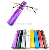 Wholesale New Comfy Reading Glasses Alloy Container Presbyopia Diopter