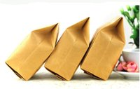 barley tea bags - Kraft Paper Bellows Pockets Self supporting Bags for Food Tea Barley Tea Packaging with Moisture proof and Multi size Optional
