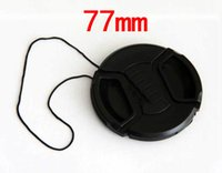 Wholesale mm center pinch Snap on cap cover LOGO for Alpha mm camera Lens