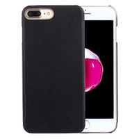 Wholesale For iPhone Plus PU leather Protective Back Cover Case