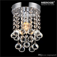beautiful stair - Beautiful Crystal Chandelier Lighting Fixture Small Clear Crystal Lustre Lamp for Aisle Stair Hallway corridor porch light