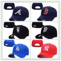 al por mayor al aire libre béisbol capsula los sombreros-Sombrero caliente de la caza del algodón del casquillo de béisbol de los hombres del verano de la venta al aire libre de Nueva York se divierte las mujeres planas de la manera del sombrero de Casquette Snapback