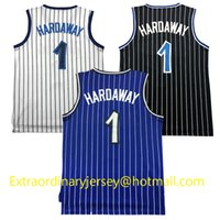 Wholesale Cheap Throwback Men s Penny Hardaway Jersey Mesh Anfernee Hardaway Jersey Stitched S XXL