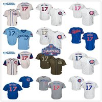 Baseball army men series - World Series Champions Patch Kris Bryant Chicago Cubs Throwback Black Gray Green Blue White Gold MLB Baseball Jerseys Outlets