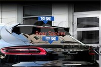 Wholesale High Quality Fashion Car Accessories Carbon Fiber Roof Spoiler Fit For P MA Rear Spoiler