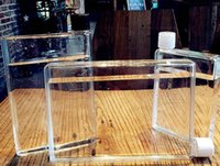 Wholesale 1pcs high quality Memobottle Clear A5 Memo Book Paper Bottle Flat Portable Water Bottle Cup Kettle DROP SHIPPIMG
