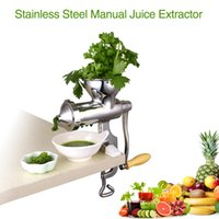 Wholesale Hot Sale with Gift ECO Friendly Household Stainless Steel Manual Citrus Juice Extractor Used in Kitchen