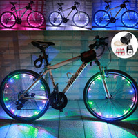 bicycle tires and wheels - Wheel Lights Auto Open and Close m LED Bicycle Wheel Spoke Light String Bicycle Tire Accessories Waterproof