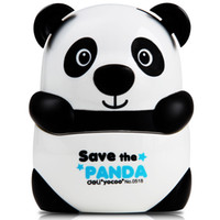 Wholesale 2017 new style deli lovely panda pencil sharpeners plastic shell kids love best high quality high brand SIZE mm
