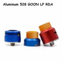 best bridges - Best Aluminum GOON LP RDA Rebuildable Dripping Atomizer Peek Insulator Adjustable Airflow Control mm Gold Plated Bridge Fit Mods