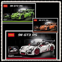 Wholesale IN STOCK DECOOL technic series GT3 RS Model Building Kits Minifigures Blocks Bricks Compatible