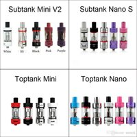Wholesale Kanger Toptank Mini Nano Subtank Mini V2 Nano S Tank Atomizers for kangertech topbox subox mini subvod subvod mega kit high quality