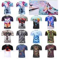 Wholesale New Mens Summer Tees Plus Size Short Sleeve T Shirt Milk Printed polyester T shirt D Designer Clothing M XXXXL Golf Tshirt