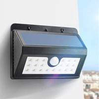 Wholesale Waterproof LED Solar Powered Security Motion Sensor Smart Light Outdoor Wall Home Yard Garden Lamp LEG_21S
