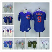 Wholesale 2016 World Series Champions Chicago Cubs Men s Jersey Javier Baez David Ross Andre Dawson Baseball Jerseys stitched Logo