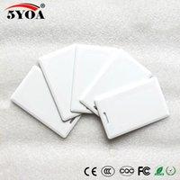 5YOA EM4305 T5577 125kHz tarjeta gruesa EM ID keyfobs RFID Tag llave tarjeta de anillo Proximidad Token para el sistema de control de acceso