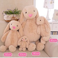 Wholesale Kids Toys Creative Dolls Bunny Soft Plush toys Rabbit toys Cute Long Ears bunny Easter Christmas valentine s day Gift