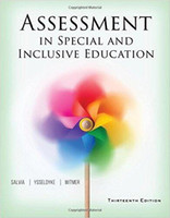 Wholesale Assessment in Special and Inclusive Education th Edition