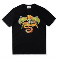 ask long - 2017 summer US hip hop fear of god metallica skull i asked no one vintage cotton t shirt in black