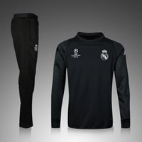 Wholesale 2016 Real madrid Tracksuits top quality Ronaldo Training suit BENZEMA JAMES BALE Real madrid tracksuits