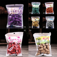 Wholesale Hot New pack Natural Cones Aromatherapy Tower Incense Tea Smoke Reflux Sandalwood WC667 SYSR