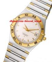 Nouvelle mode de luxe bracelet en acier inoxydable pré-propriété constellation 1202.30.00 35.3mm mécanique MAN WATCH montre-bracelet