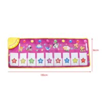 Wholesale Animal Pattern Baby Touch Play Keyboard Musical Toys Music Carpet Mat Blanket Early Education Tool Toys Two Version Random Sent