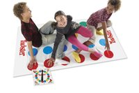 Wholesale Outdoor Fun Sports Toy Sports BOHS Classic Kids Body Twister Moves Game Play Mat Board Group Party Picnic Fun Outdoor Sports