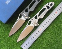 bearings manufacturers - Maker original ceramic ball bearings manufacturers design fin folding knife S35vn of TC4 titanium alloy processing tool of EDC mounta