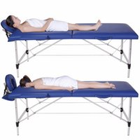 Wholesale New Folding Massage Table Spa Facial Massage Table Tattoo Chair Carry Case Camilla Masaje Plegable